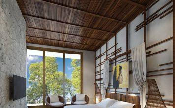 kamar tidur bernuansa villa, inspirasi kamar tidur, dekorasi kamar tidur