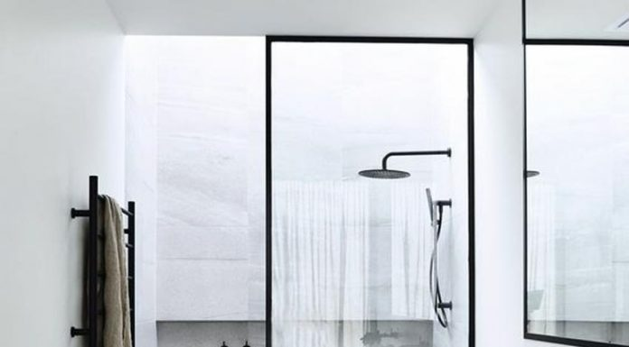 kamar mandi modern, kaca kamar mandi modern