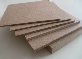 kayu MDF, Papan MDF (Medium Density Fiber)