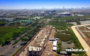 Lifestyle Center New East Jakarta Garden City realestat.id dok