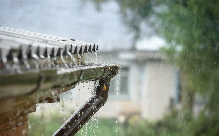 Ilustrasi sistem memanen air hujan atau rain water harversting. (Foto: Istimewa)