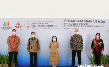 Summarecon Bandung RS Santo Borromeus green hospital realestat.id dok