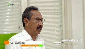 Adi Setianto, Komisioner BP Tapera. (Foto: RealEstat.id)