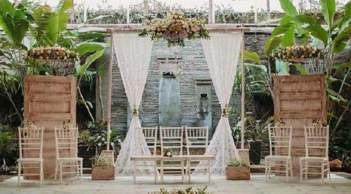 tips menyelenggarakan pesta pernikahan di rumah, dekorasi pesta pernikahan