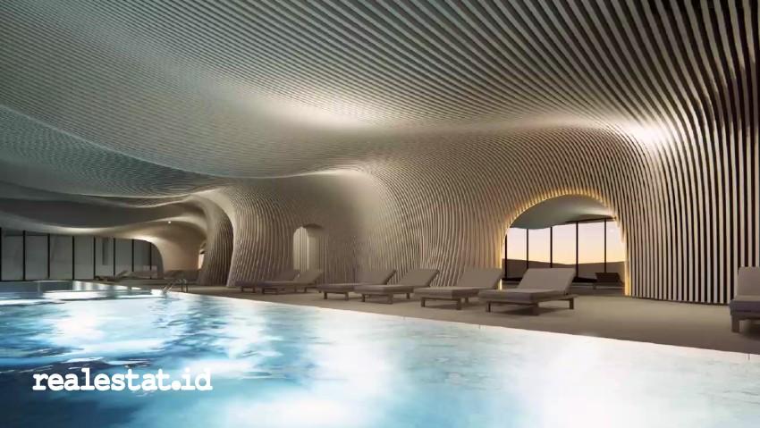 kolam renang swimming pool artis crown group melbourne.