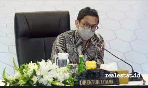 Pahala Nugraha Mansury, Direktur Utama Bank BTN. (Foto: RealEstat.id)