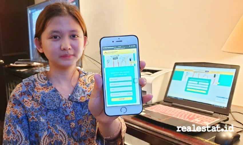 Aplikasi pengaduan masalah perumahan Kementerian PUPR.