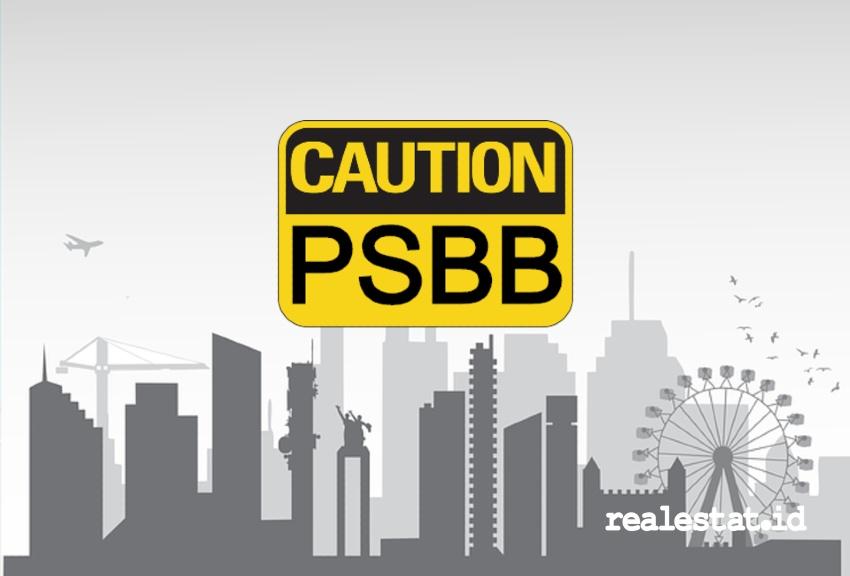 Pemberlakuan PSBB berimbas terhadap bisnis properti di DKI Jakarta. (Foto: Diolah dari Pixabay.com)