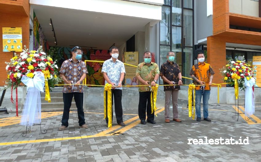 Soft opening Marchand Hype Station, Bintaro (Foto: RealEstat.id)