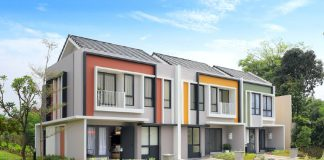 Cluster Baroni Summarecon Serpong show unit fasad realestat.id dok