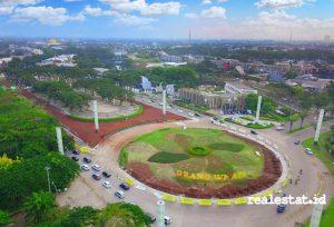 Progres pelebaran jalan di North Gate Grand Wisata, Bekasi. (Foto: Dok. Sinar Mas Land)