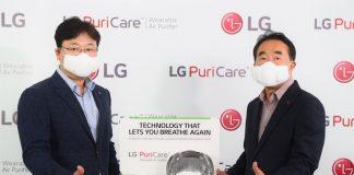 LG Puricare, Air Purifier Wearable, LG Electronics Indonesia