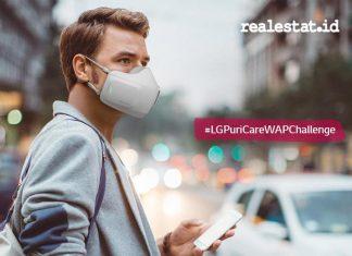 LG PuriCare WAP Challenge, LG Indonesia, air purifier