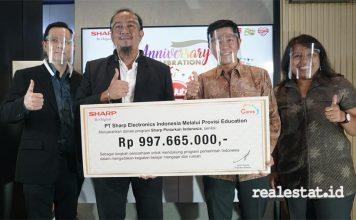 Donasi program Sharp Pintarkan Indonesia, Sharp Indonesia