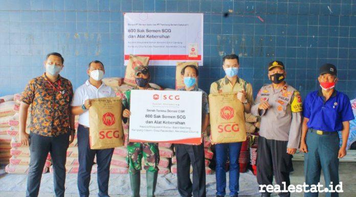 SCG kuartal III 2020 - Donasi Bencana Banjir Cicurug realestat.id dok