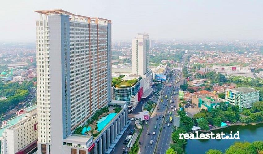 Bangunan apartemen Skandinavia yang berada di kawasan Tangcity Superblock, Tangerang.