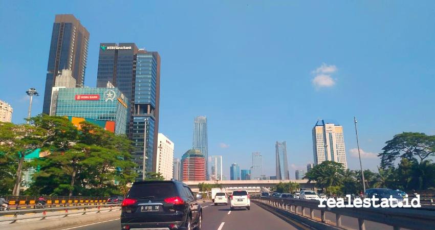 Kawasan perkantoran CBD Jakarta. (Foto: RealEstat.id)
