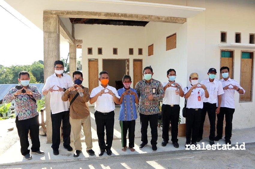 Program BSPS di Kalimantan Utara. (Foto: Dok. Kementerian PUPR)