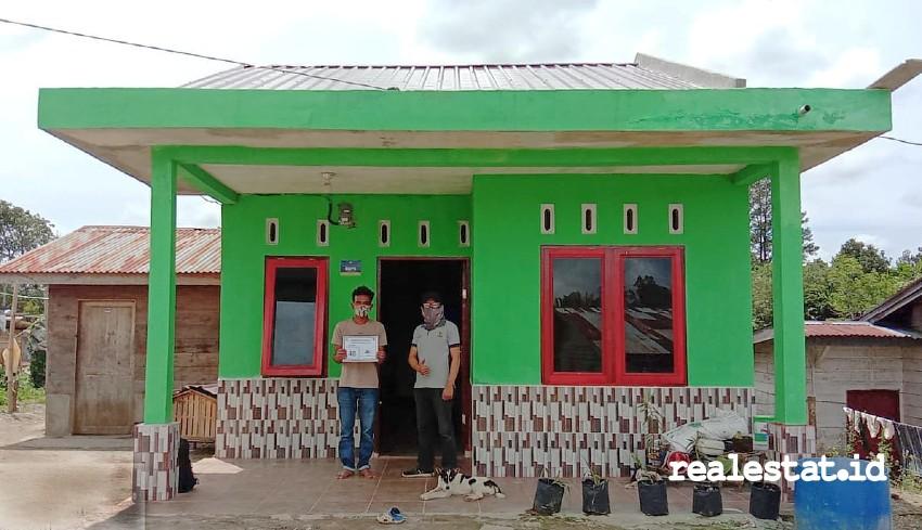 Rumah Tidak Layak Huni yang mendapat bantuan Program BSPS di Sumatera Utara. (Foto: Dok. Kementerian PUPR)