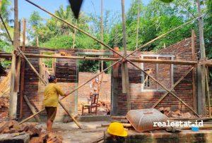 Renovasi Rumah Tidak Layak Huni (RTLH) di Yogyakarta. (Foto: Dok. Kementerian PUPR)