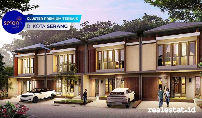 Rumah Tipe 66 di SEION @Serang yang dikembangkan MASGroup dan Fujiken Jepang.