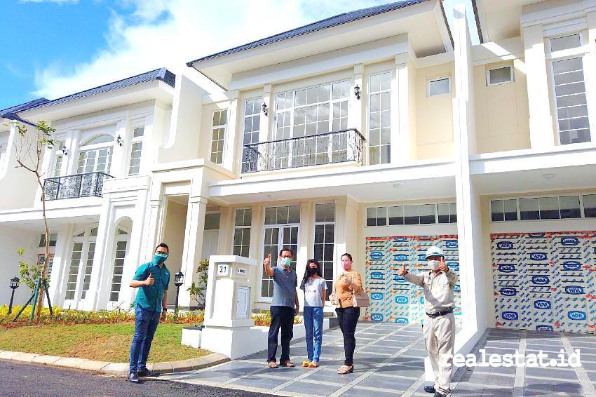 Serah terima unit Cluster Jade dan Beryl Residence, Summarecon Mutiara Makassar.