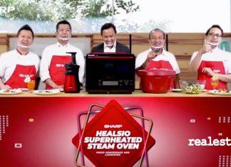 sharp healsio superheated steam oven realestat.id dok