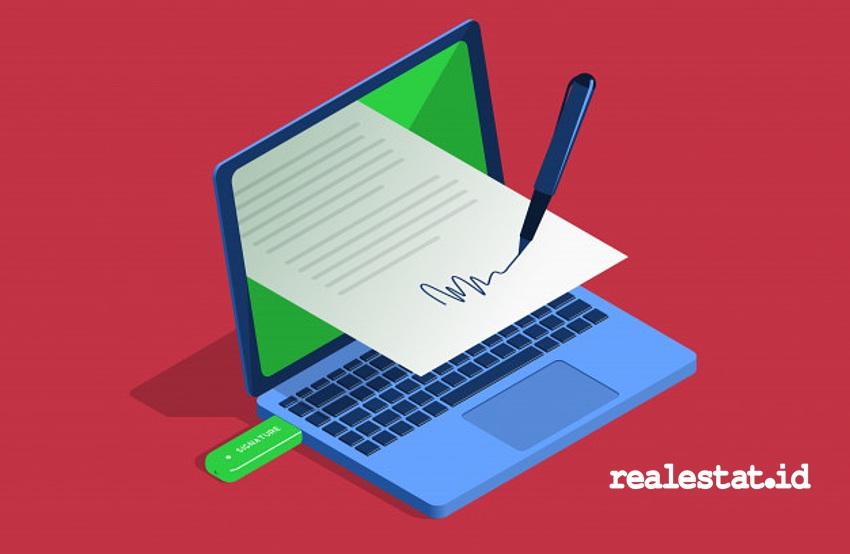 Tandatangan digital (Foto: Freepik.com)