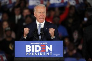 Kemenangan Joe Biden sebagai presiden ke-46 dinilai akan membawa angin segar bagi sektor properti Asia Pasifik, di tengah perang dagang AS-China yang mulai mereda. (Foto:Gerald Herbert / Associated Press)