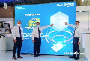 Pembukaan KPR BTN Anniversary Virtual Expo (Foto: Dok. RealEstat.id)