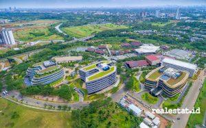 Monash University di BSD Green Office Park.