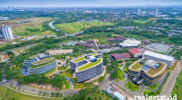 Monash University BSD Green Office Park realestat.id dok