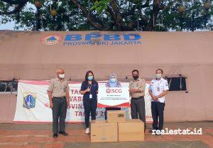SCG menyerahkan donasi Alat Pelindung Diri dan Masker N95 kepada  Pemerintah Daerah DKI Jakarta  mendukung pemerintah dalam menangani  COVID-19.