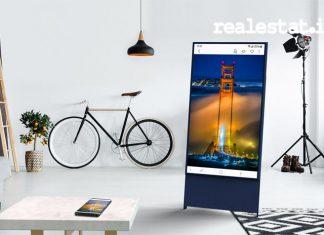 televisi samsung the sero, Samsung the Sero, layar televisi rotasi Samsung