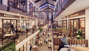 Ruko Virginia Arcade di BSD City (Foto: dok. Sinar Mas Land)