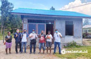 Program Bedah Rumah (BSPS) di Kabupaten Teluk Bintuni (Foto: Kementerian PUPR)