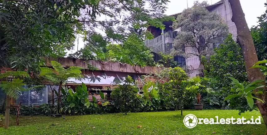 Vegetasi Memeluk Massa Bangunan Heri Gonku realestat.id dok
