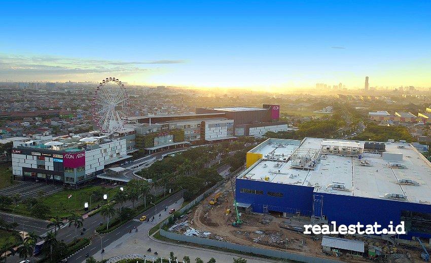 AEON Mall dan IKEA di Jakarta Garden City (Foto: Dok. Modernland)
