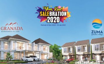paramount land Year End Salebration 2020 granada zuma realestat.id dok