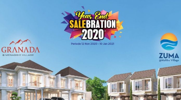 paramount land Year End Salebration 2020 granada zuma realestat.id dok