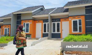 Perumahan subsidi berbasis komunitas di Bogor (Foto: Kementerian PUPR)