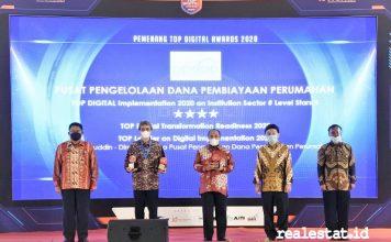 ppdpp Top Digital Awards 2020 realestat.id dok