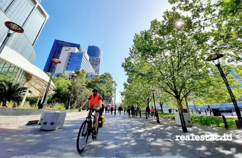 Kawasan Southbank, Melbourne, Australia. (Foto: Bagus Sukmana - Crown Group)
