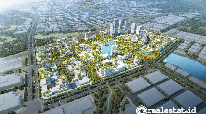 Masterplan Subang Smartpolitan (Foto: Suryacipta.com)