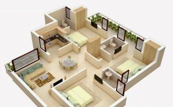 denah rumah minimalis, ide denah rumah minimalis, inspirasi rumah minimalis