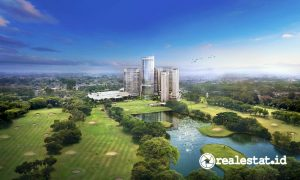 Fairway Place Golf Residence Kota Modern.