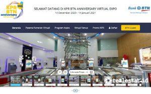 KPR BTN Anniversary Expo dapat diakses di hutkprexpo.btnproperti.co.id