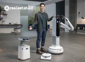 Samsung merilis Vacuum Cleaner Robotik dan Laundry Berteknologi AI dalam ajang CES 2021. (Foto: dok. Samsung Electronics)