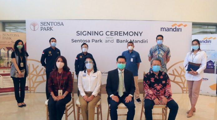 Sentosa Park Bank Mandiri KPR signing ceremony realestat.id dok