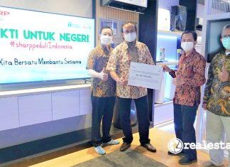 Sharp Indonesia Bakti untuk Negeri Human Initiative realestat.id dok